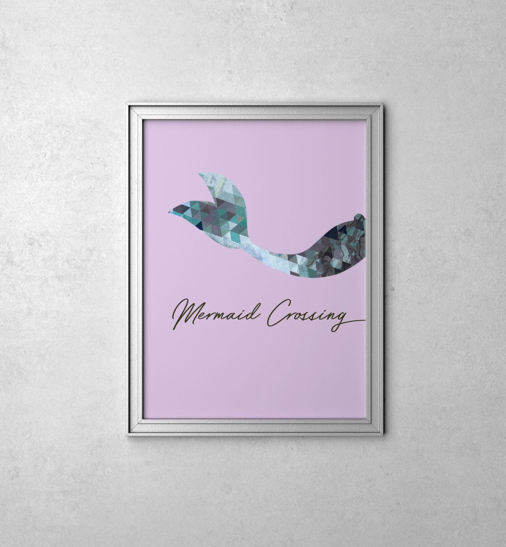 Mermaid Bedroom Decor Mermaid Bedroom Etsy