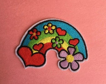 Hippie Sign Iron on Patch