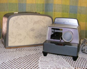 Vintage Braun Electric S German Slide Projector