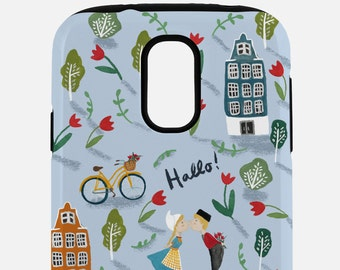 Dutch Pattern Tough Phone Case