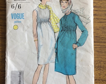 Vogue 6657 1960s Dress Sewing Pattern 14