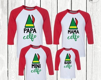 Family Elf Shirts, Family Christmas Shirts, Elf Family, Papa Elf Shirt, Mama Elf Shirt