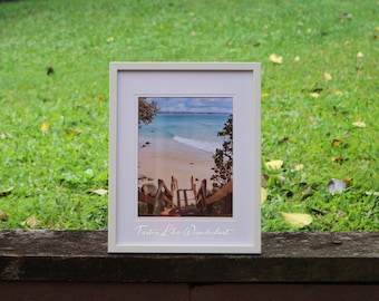 Framed Print 8x10 || Greenmount Beach, Coolangatta, Australia