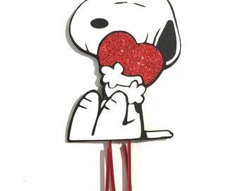 Snoopy heart | Etsy