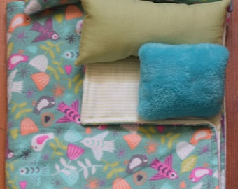 Bedding for American Girl Doll Bed