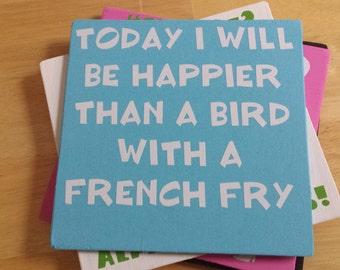 Happier Than A Bird Etsy