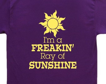 Ray of Sunshine tangled T Shirt