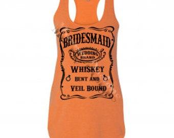 Bridesmaid Wedding Whiskey