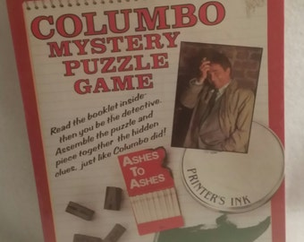 Columbo Mystery Puzzle Game Ashes to Ashes