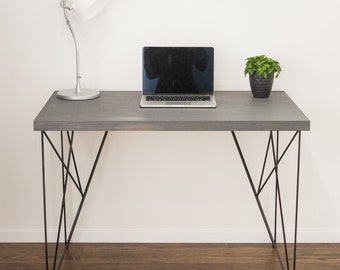 Computer desk, Computer table, Home office desk, modern desk, hairpin desk, school desk, Industrial desk
