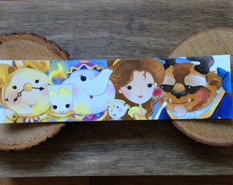 Beauty Characters Bookmark - Colorful