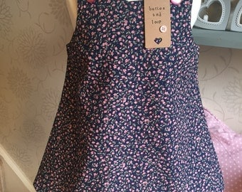 girls dress, party dress, occasion dress, navy dress, girls clothing, baby girls dresses, baby girl clothing, baby dresses, girls navy dress