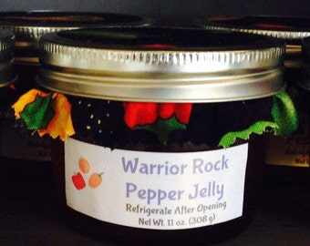 Warrior Rock Pepper Jelly