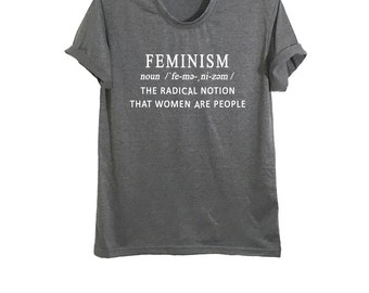 Feminism tshirt female shirt womens right radical feminist fashion ladies tops t shirts graphic tee size XS S M L