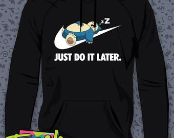 Snorlax Just Do It Later Hoodie