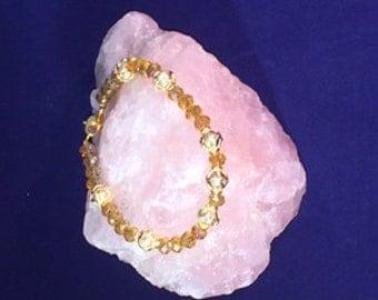 Yellow Swarovski Crystal