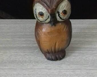 Vintage Carved Owl