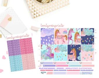 Glitter Unicorns EC Vertical Weekly Kit