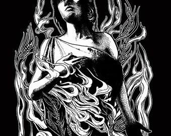 Ergot Giclee Print 11x14