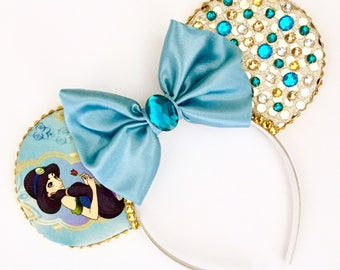 The Sultans Daughter - Handmade Disney Princess Jasmine Inspired Mouse Ears Headband