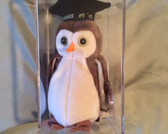 Beanie Babies - Wise the Owl - 6th Generation