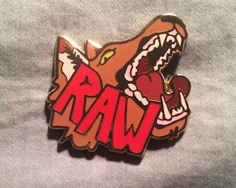 Wolf Pin (RAW)