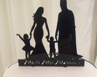 Custom Made, Wedding Cake Topper, Acrylic, Custom Design, Custom Cake Topper, Design Your Own Topper