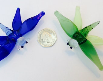 Dragonfly Glass Figurine