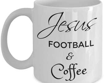 Christian Gifts Coffee Mug | Mother's Day | Father's Day | Best Birthday Gift for Mom, Dad, Friend, Husband, Wife | Just Say Jesus 11 oz Cup