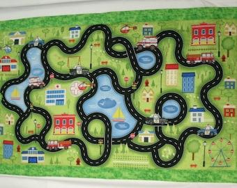 Children's Street Scene - Play Mat & Stroller Blanket