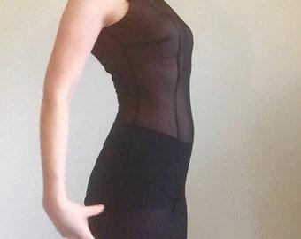 Bodysuit for Silhouette Latin Dance Dress