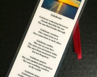 Celebrate Prayer Bookmark