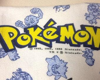 Vintage Nintendo Pokemon Twin Flat Sheet
