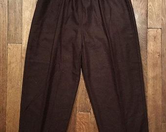 Large flannel pants