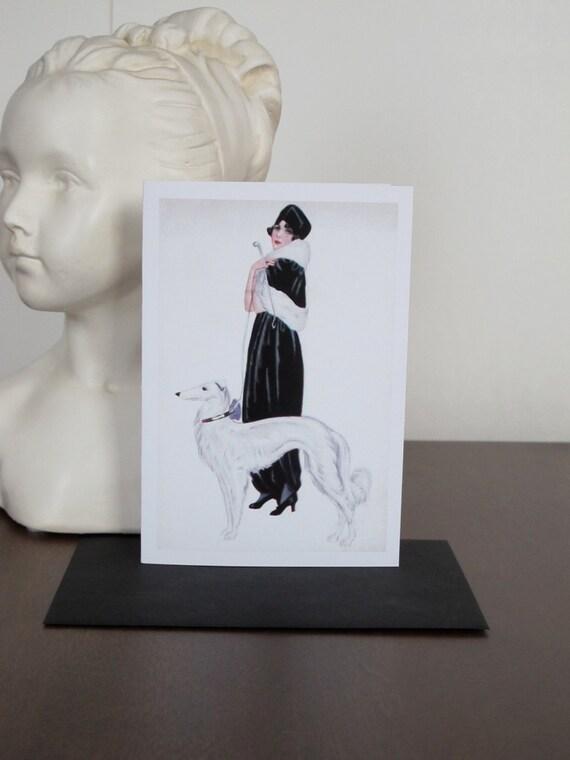 carte dame en noir et l vrier blanc image vintage carte. Black Bedroom Furniture Sets. Home Design Ideas
