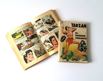 Vintage Tarzan comic paperbacks
