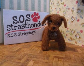 SALE 40% Missy -  SOS straydog OOAK dog