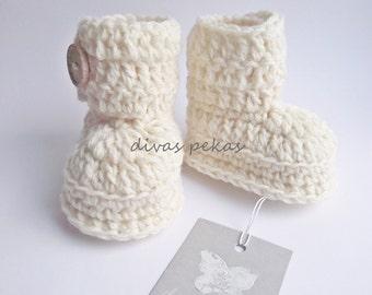 Crochet Baby Booties, Crochet Baby Booties Wool, Baby Boots Ugg, UGG, Baby Booties, Baby Boots, Crochet Baby Ugg, Baby