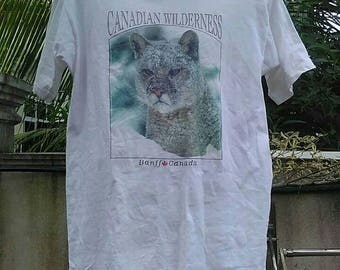 Vintage Clothing Fruit Of The Loom Made In USA Canadian Wilderness