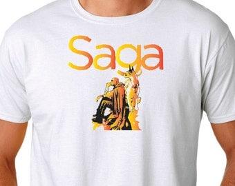 Saga The Will and Lying Cat T Shirt