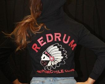 Redrum zipup hoodie