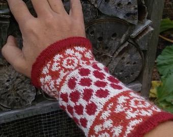 """Gloves, """"Lori"""", fair isle"""