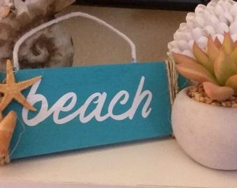 Cute Beach Sign