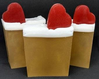 Strawberries 'n Champagne Soap