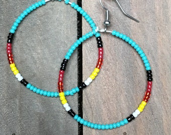 Western Earrings Hoops