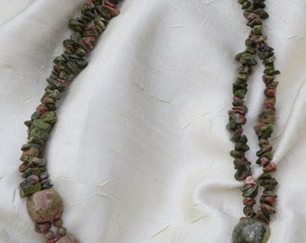Jasper Beaded Necklace