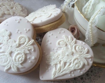 Wedding Sugar Cookies x 10