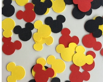 Mickey Mouse Birthday Party - Mickey Party Supplies - Mickey Decor - Mickey Mouse Confetti - Mickey Party Decoration - Mickey Confetti