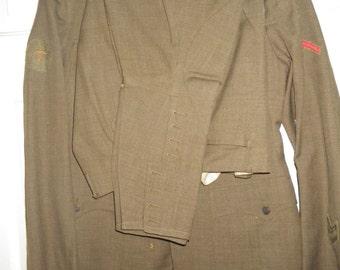 World War I.  U.S. ARMY  Uniform.