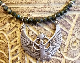 Isis Goddess Necklace